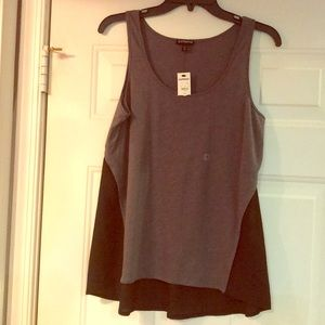 NWT Small Gray and Black Express Tank Top